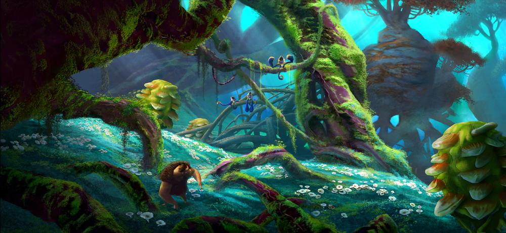Set Design The Croods (2013) © Dreamworks Animation