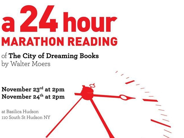 November 23rd, 2013 24 hour Marathon Reading at Basilica Hudson in Hudson, New York