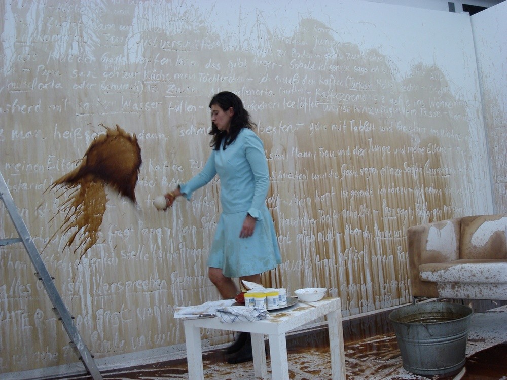 Group exhibition at HANDLUNG und RELIKT at Galerie L. Fasciati in Chur Switzerland in 2007. Photograph by Luciane and Marlene Fasciati