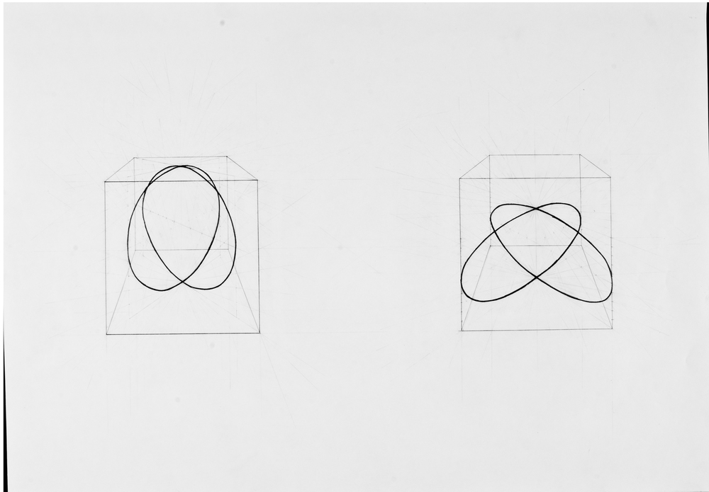 """Diagram 23"" (2013), Robyn Benson. Pencil on paper"