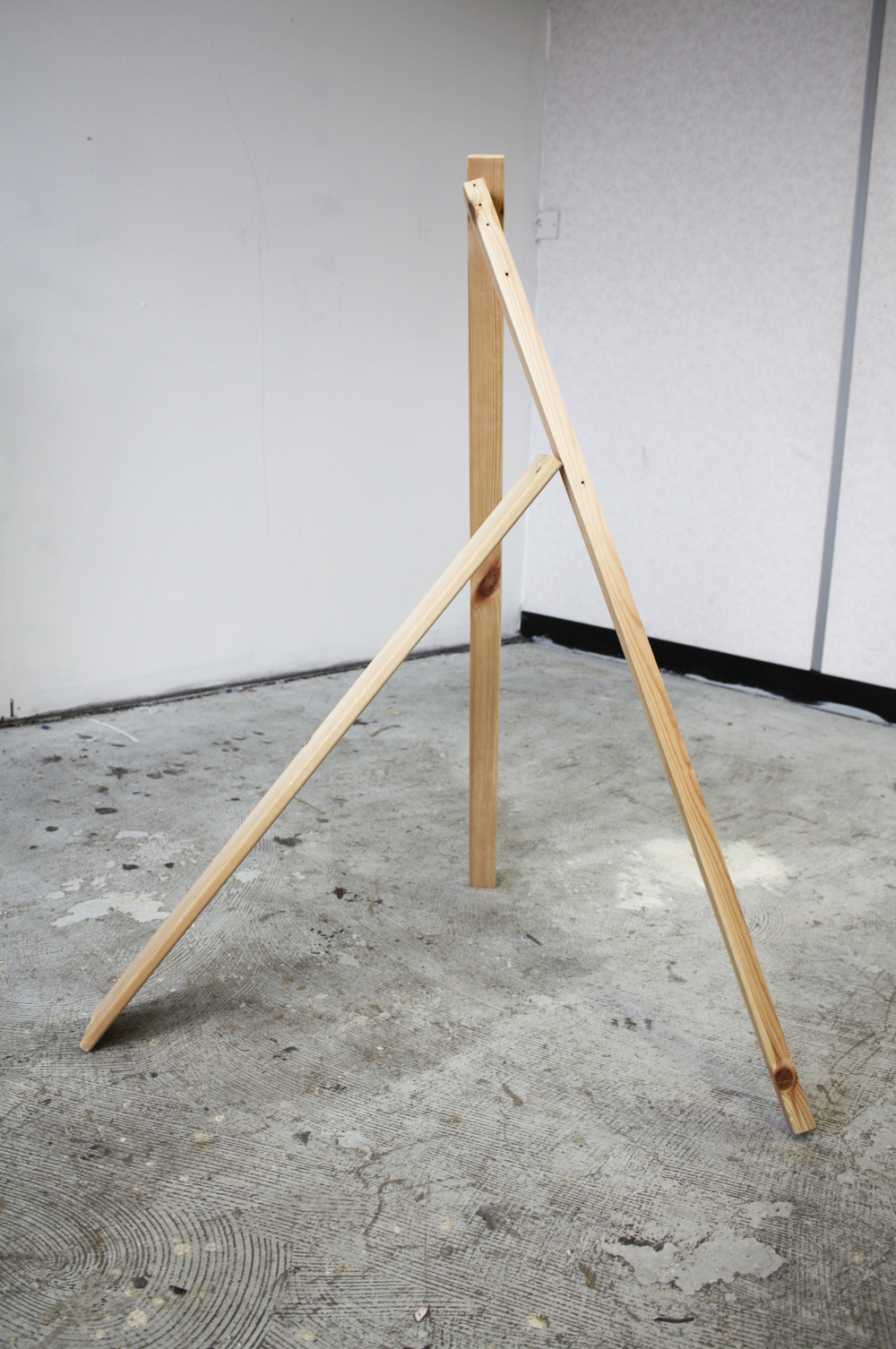 """Balanced Wood"" (2014), Robyn Benson. Wood"