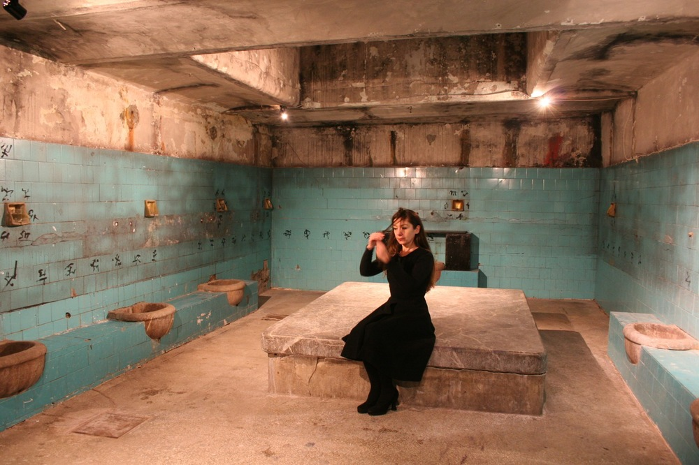 """Counting Lesson 2"" (2006), Sneźana Golubović. Photograph by Ivan Petrovic"