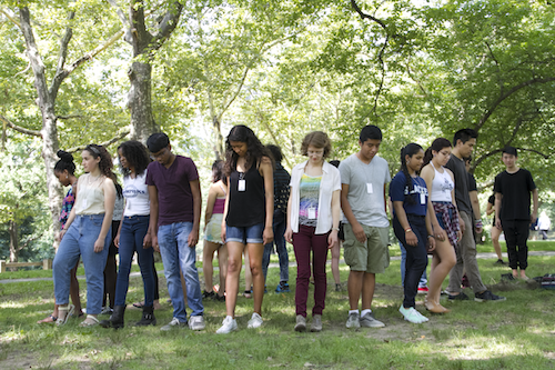 July 22nd, 2014 10am-1pm EST MoMA Teens In The Making Workshop at Central Park's Sheep Meadow