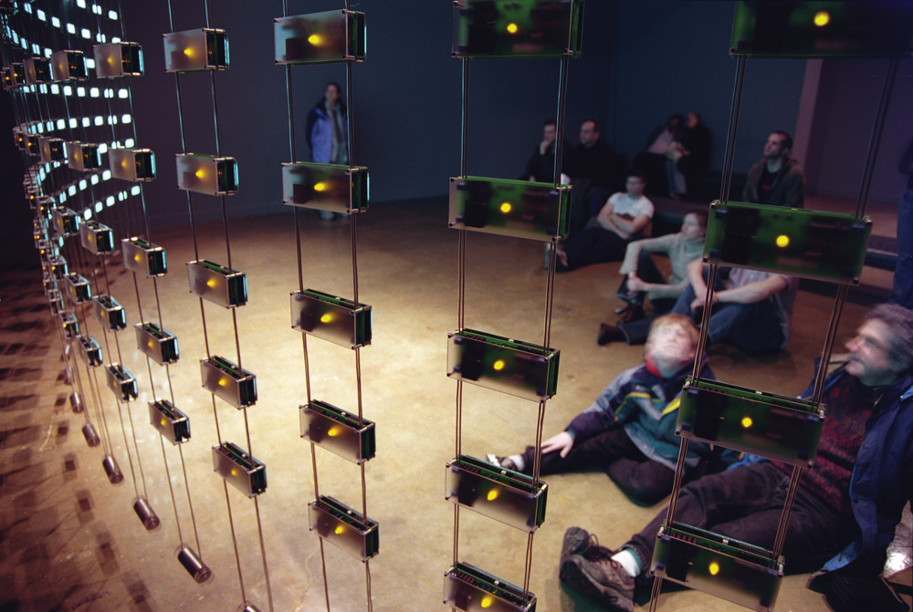 """Listening Post"" (2002). Photograph courtesy of The Office for Creative Research"