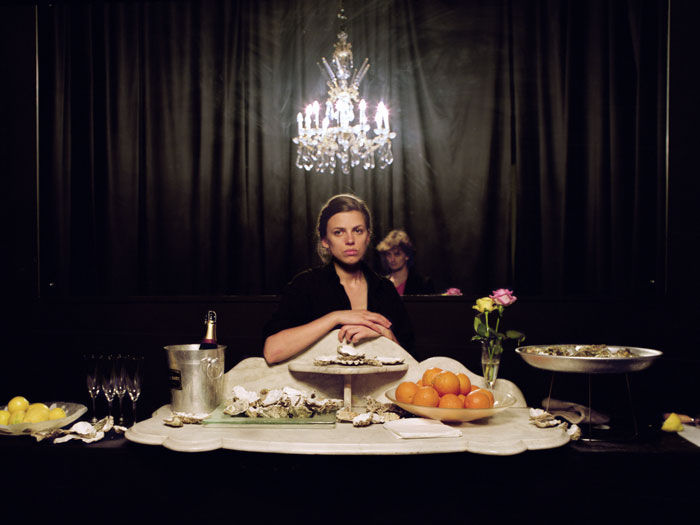 The Oyster Bar (2006), Eloise Fornieles. Photograph by David Birkin