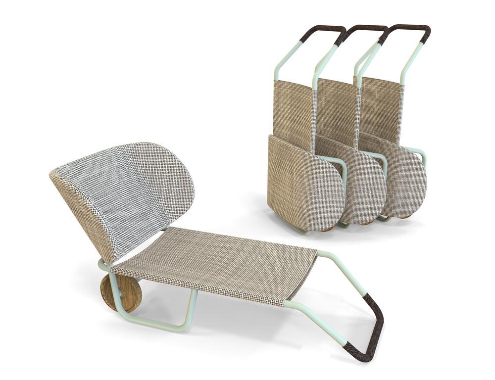 Portal Chair by Patricia Urquiola