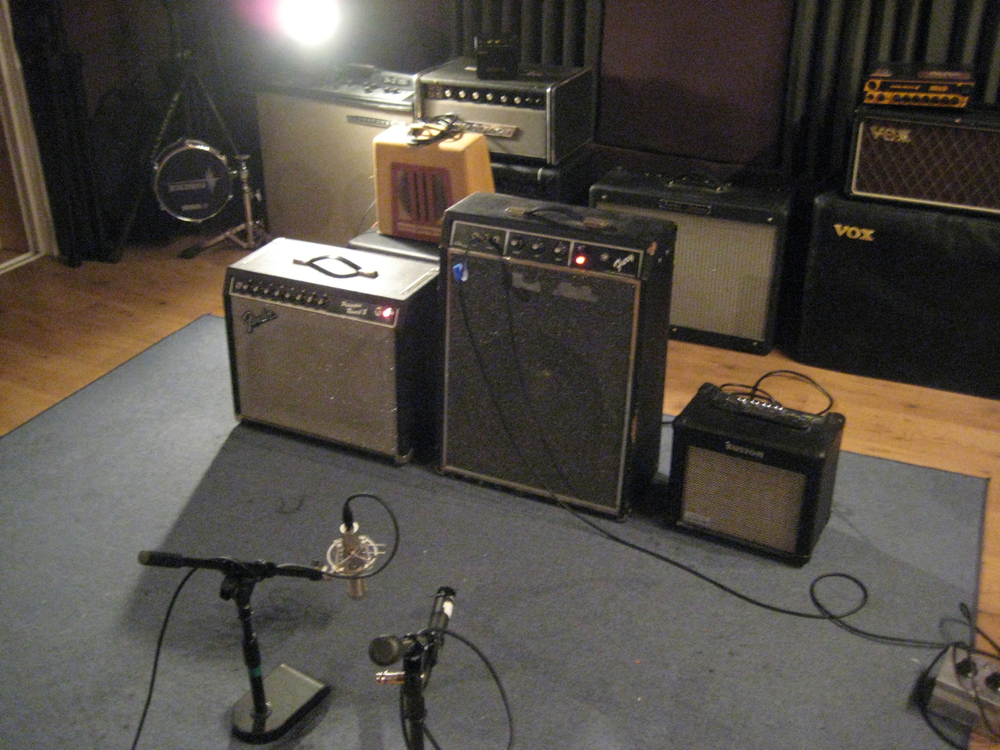 Shot of an Amp Shootout