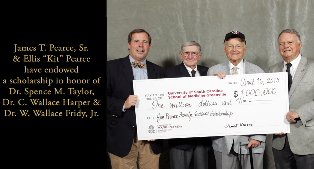 Donor Recognition for Jim Pearce Family Scholarship