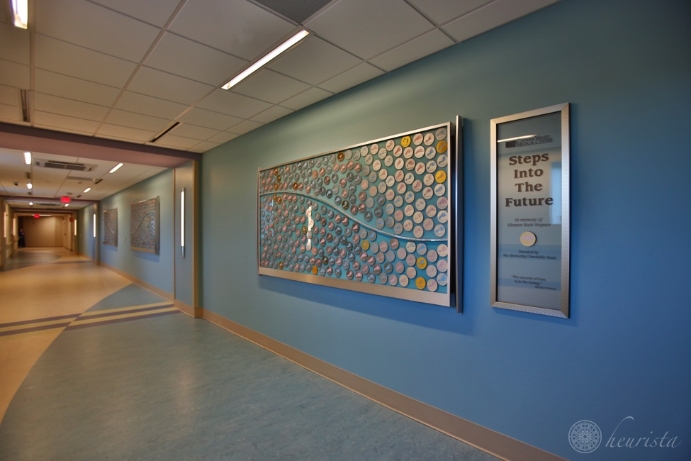 Catawba Valley Medical Center: Steps into the Future, Donor Recognition Wall