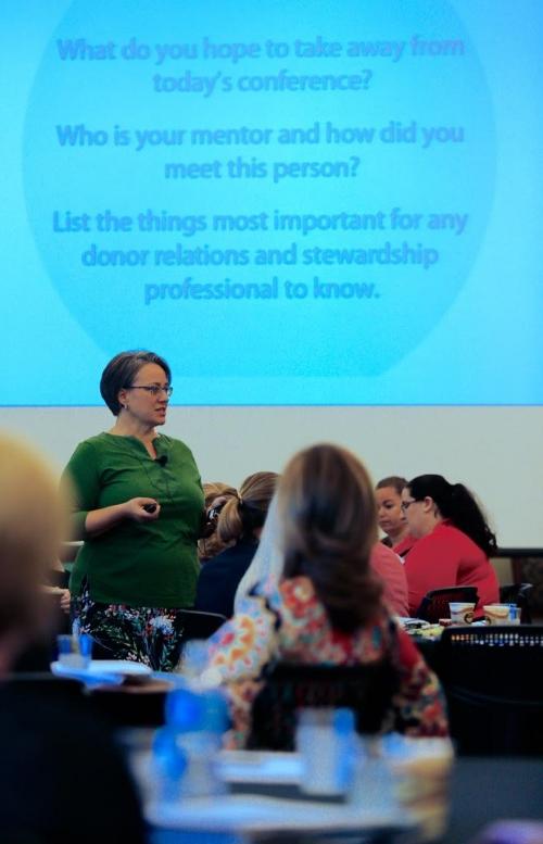 Anne Presenting at SEDRC in Birmingham, AL