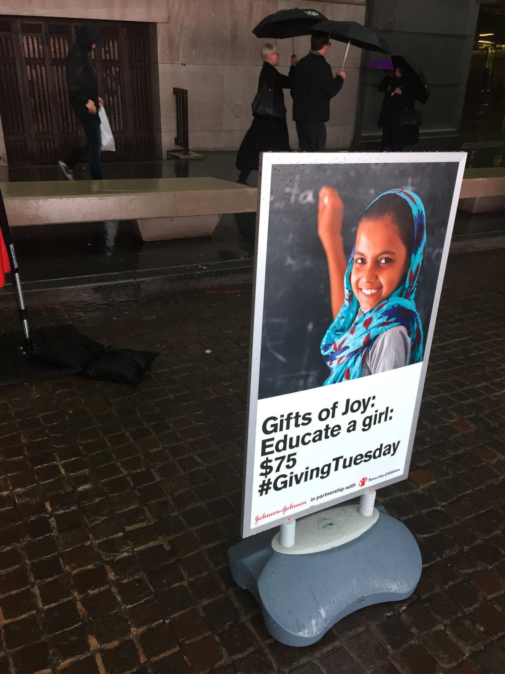 Proceeds benefit Save the Children