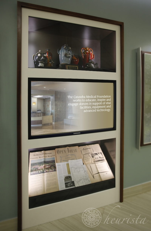 Catawba Valley Medical Center, History Center Exhibit