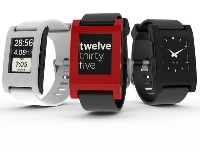 The Pebble Watch - the first real smart watch