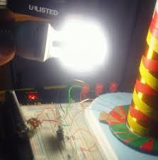 Engineer's mockup of a DIY chandelier
