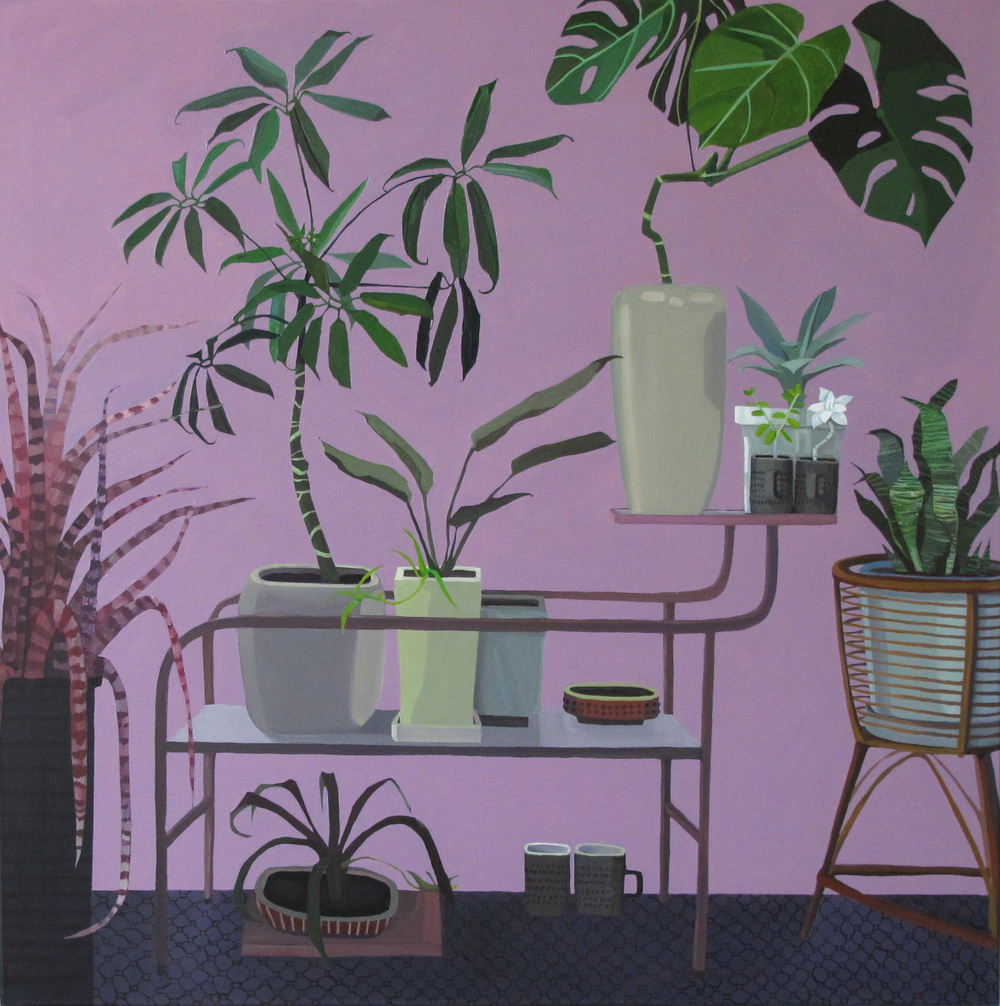 The Places I Have Travelled, The Plants I Have Met 36x36