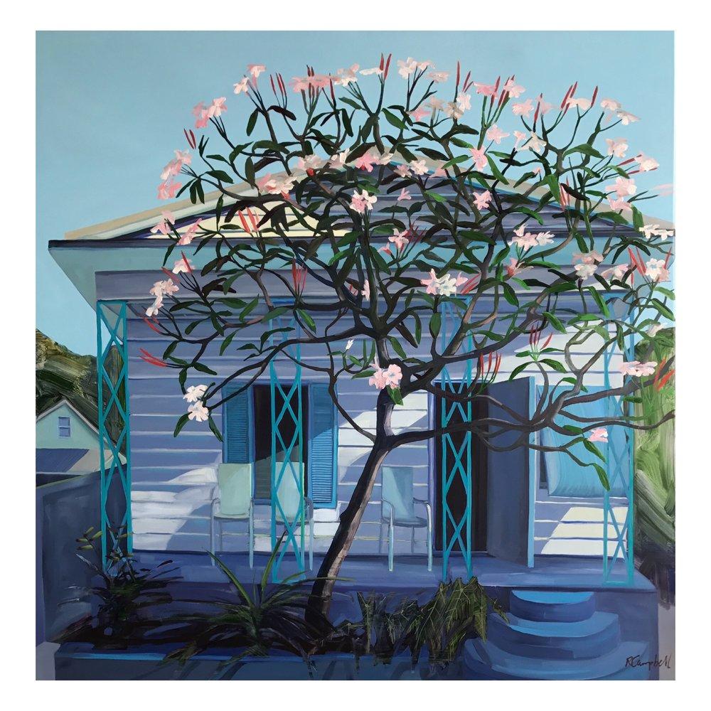 The Frangipani Tree 36x36