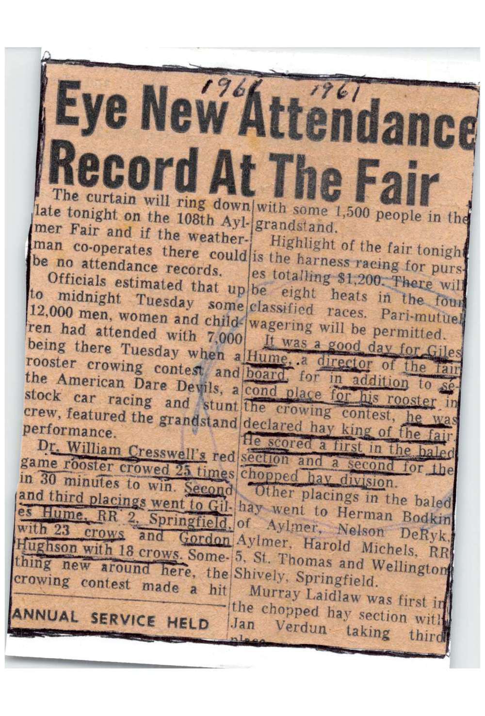 1961 Aylmer Fair Attendance Record Hay king-1500.jpg