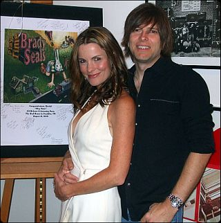 Brady & his wife Lisa