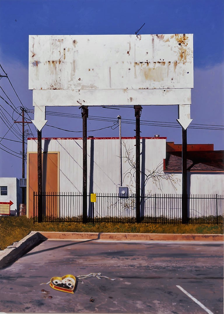 Daniel Blagg,  Valentine's Day , 2005, oil on canvas, 82 x 60""