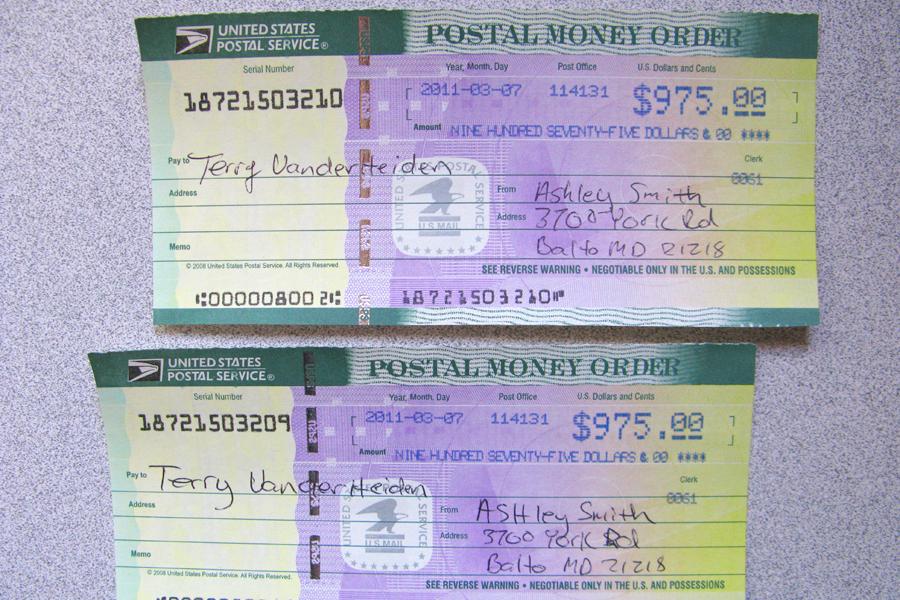 Postal Money Order Fraud — ImageLight