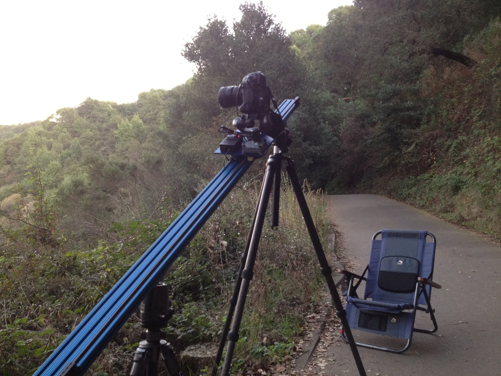 Timelapse Rail on location