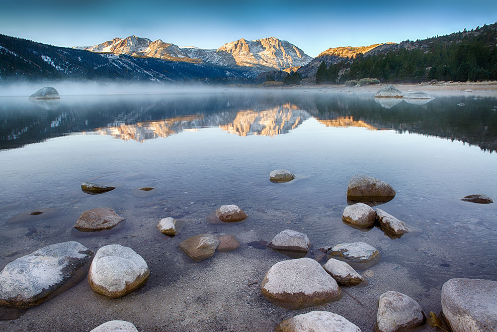 Eastern Sierras at June Lake, October.