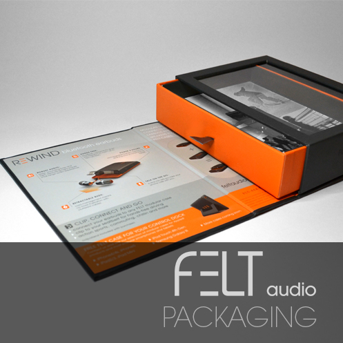 FELT AUDIO PACKAGING