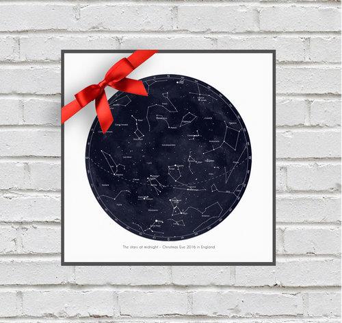 Star Map By Date And Location.Starmapsbysarah Sarah Jeffs Artist And Fine Art Photographer