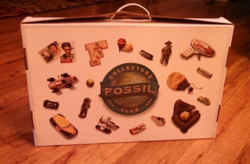 1994 Fossil Collectors Club Kit