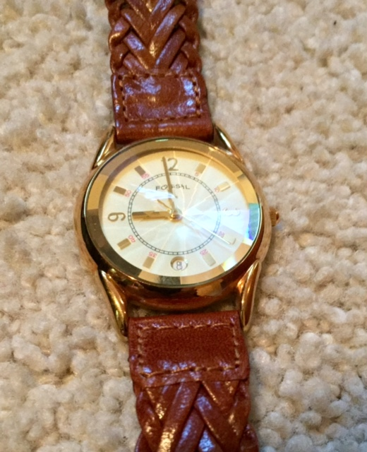 Fossil Prism Crystal Watch