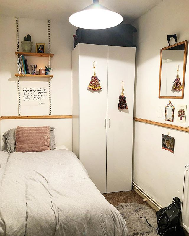 It's small but it's a room of one's own