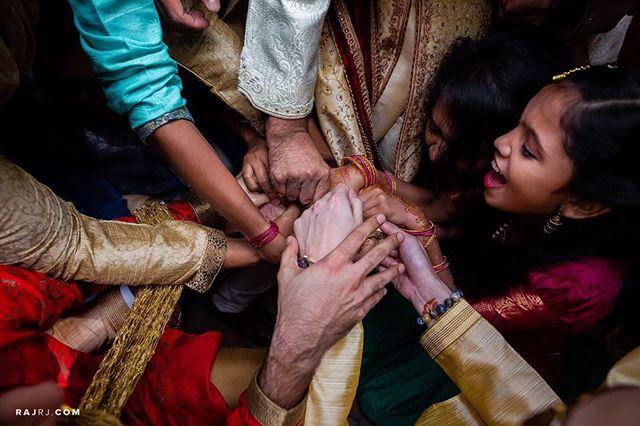 Fight like this for the joota or don't fight at all!:) Prithvi & Himanish - - #weddingphotographybyraj #junebugweddings #nikonphoto_ #nikonindia #igers #igersindia  #bride #weddingseason  #southasianbride #bangalore #coupleshoot #tajvivanta
