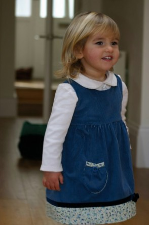 The very first Pretty Little Dress