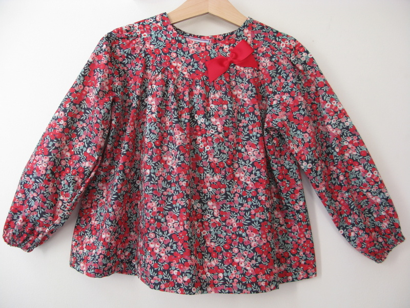 Wiltshire Liberty print blouse   Available in large