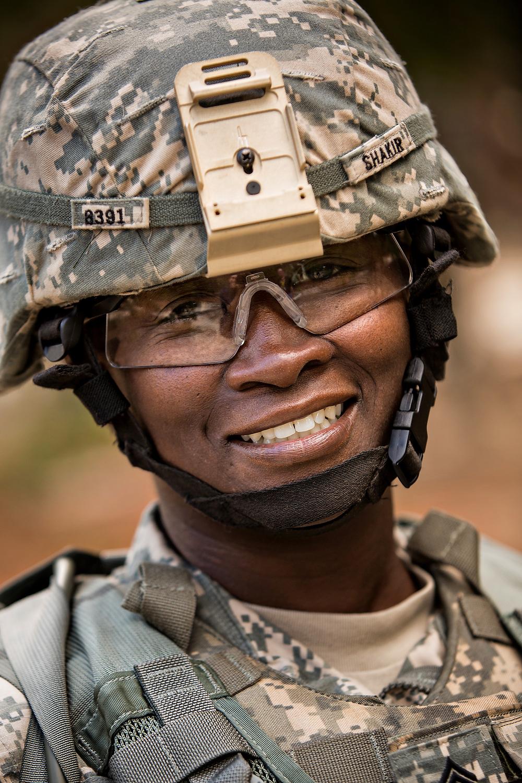 Women Drill Sargent