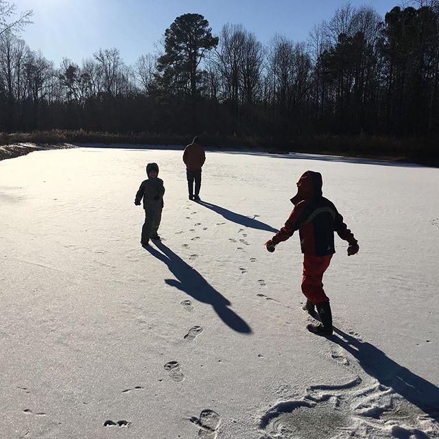 frozen pond ice rink opening soon