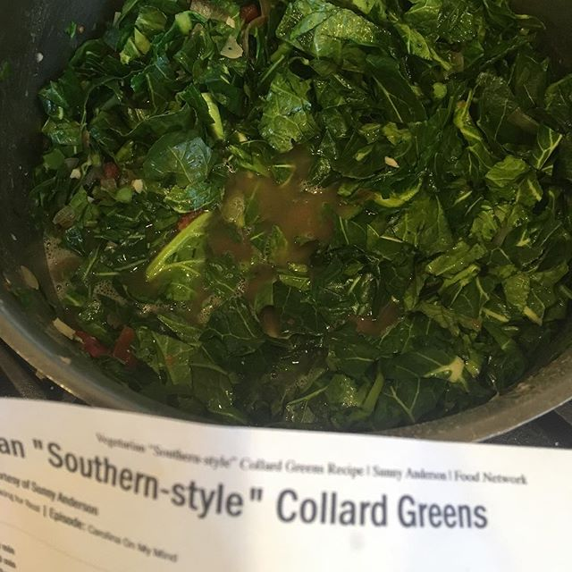Collards and black eye peas on the menu for LII