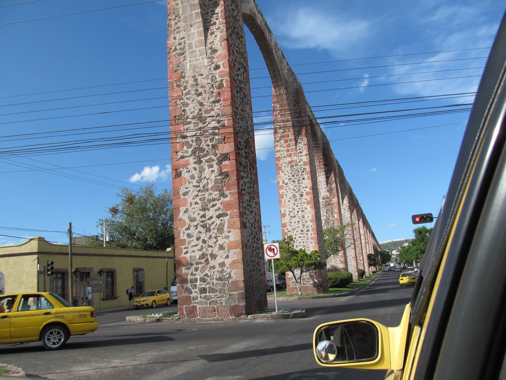 Acueducto de Querétaro.