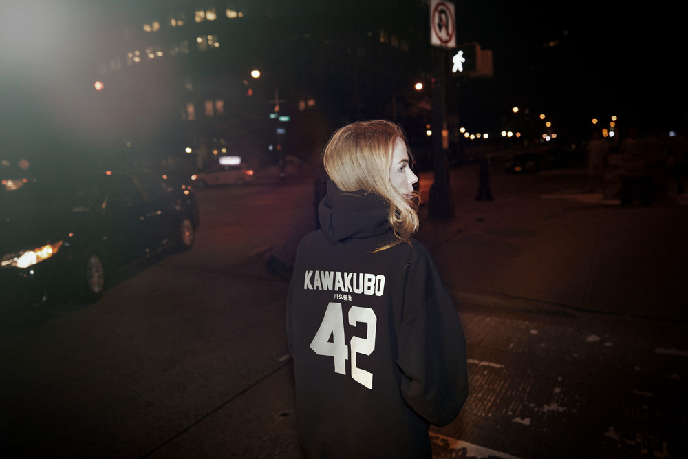 sweatshirt: LPD x New York