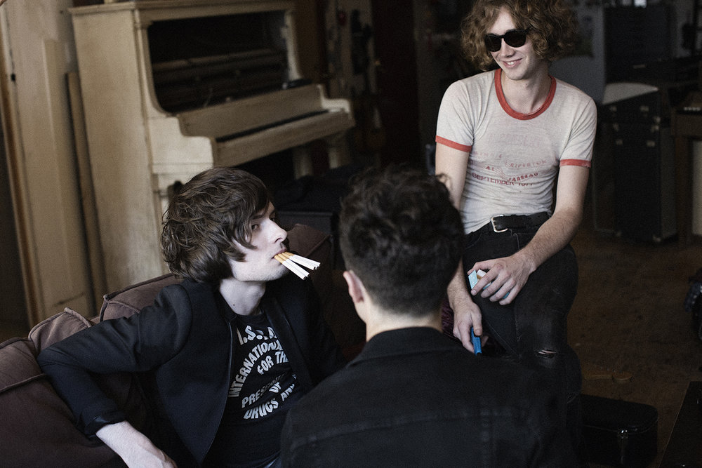 Julien, Samuel, and Dan