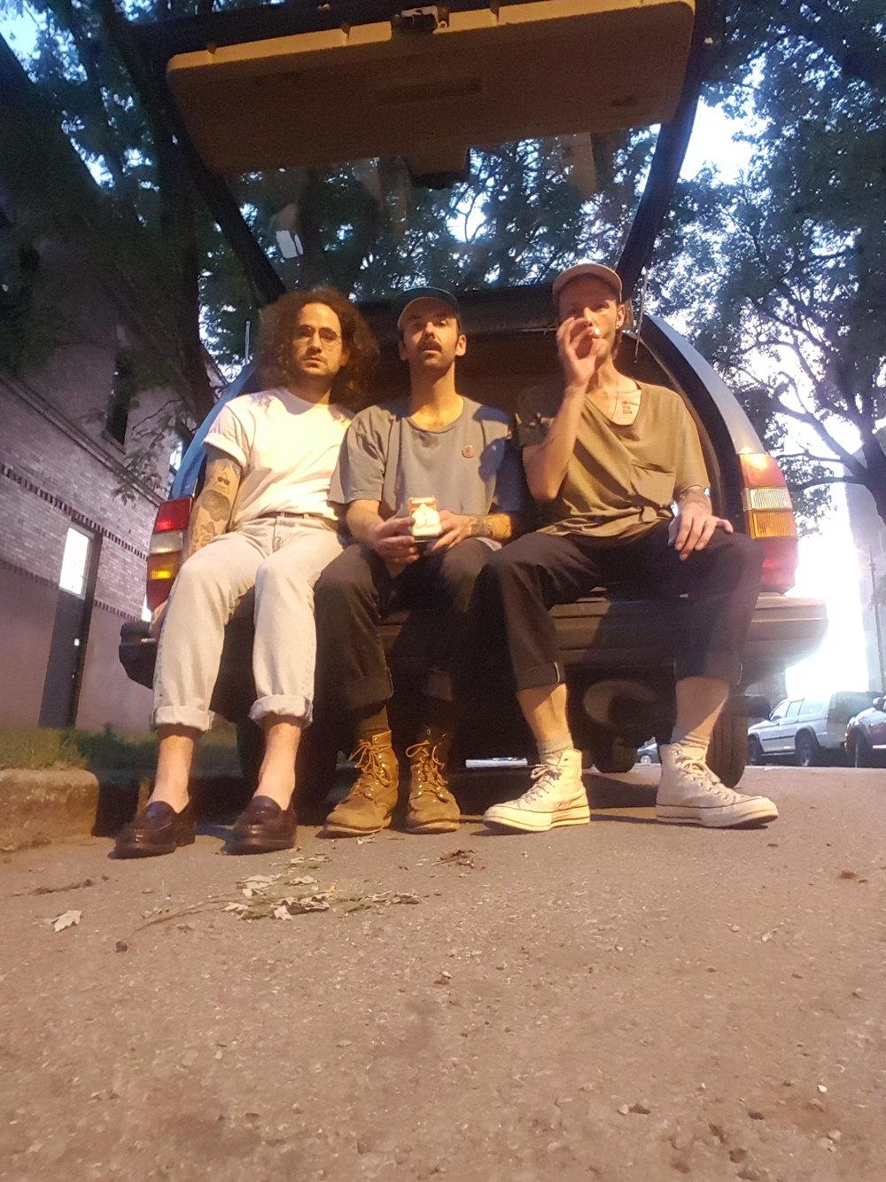 Justin Vittori, Tyler Bixby and Trey