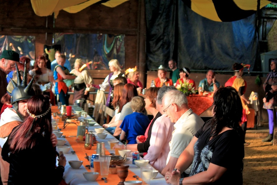 Northcote Heavy Horse Centre Medieval Banquet and Hog Roast Feast! Jousting, Drinking and fun! Family Evening out in Lincolnshire near Skegness