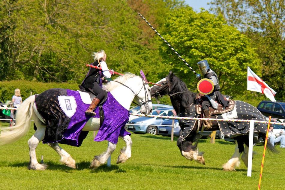 Medieval Mayhem at the Heavy Horse Centre