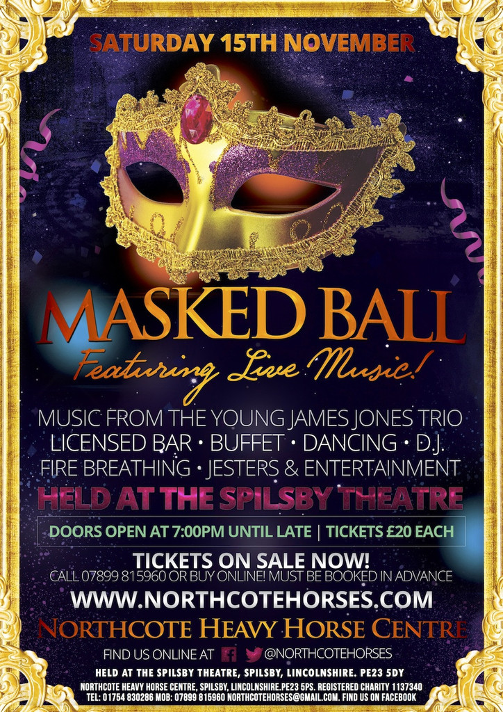 Masked Ball Evening at the Spilsby Theatre