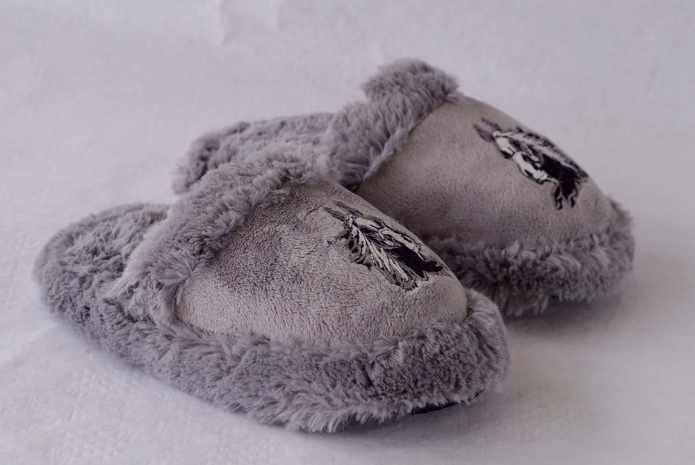 Children's warm and comfy horse slippers!