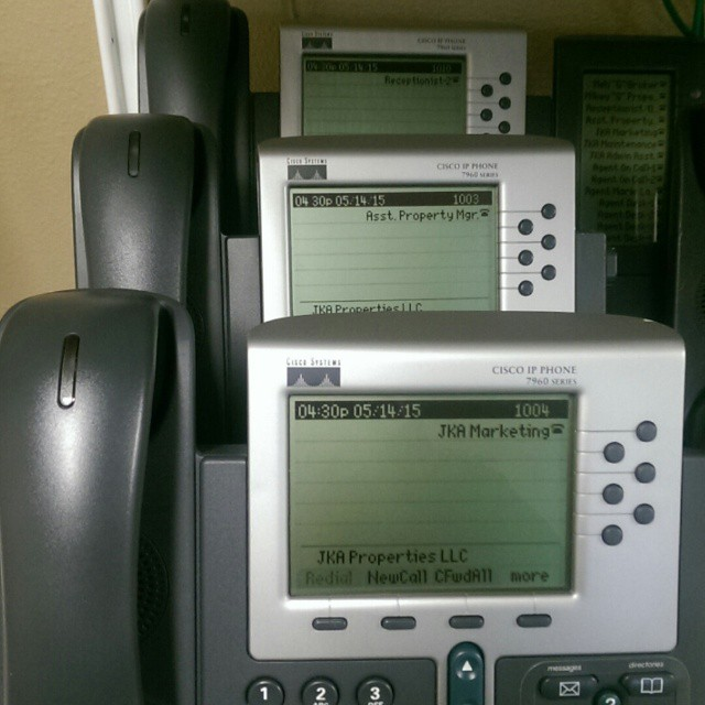 JKA Properties LLC. Clarksville, TN.  The Twenty IP Phone System.  #cisco #voip #phonesystem  http://www.voippbxexpress.com/store/the-twenty