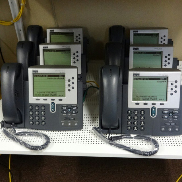 Skystorm Productions.  Lake Mary, FL.  The Twenty IP Phone System.  #cisco #voip #phonesystem  http://www.voippbxexpress.com/store/the-twenty