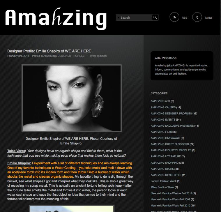 Amahzing Blog