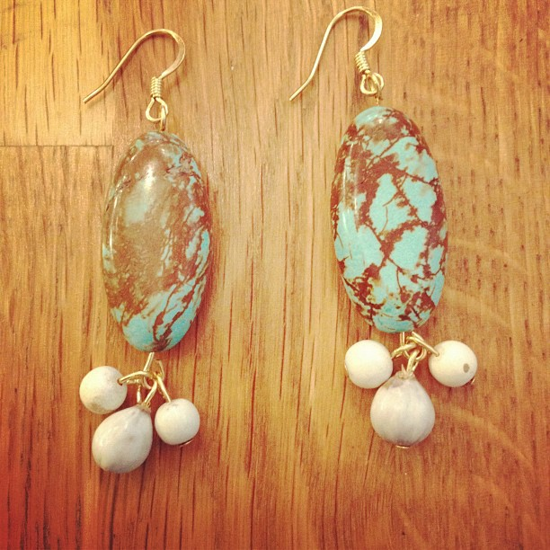 Student work from my earrings class! (Taken with  Instagram )