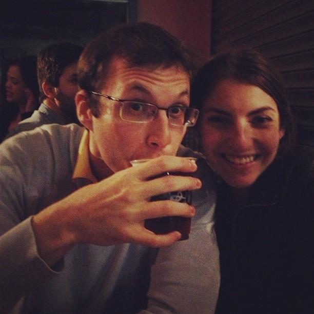Free Beer!! (at Brooklyn Brewery)
